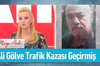 Ali Gölve trafik kazası geçirmiş – Müge Anlı ile Tatlı Sert 29 Nisan 2019