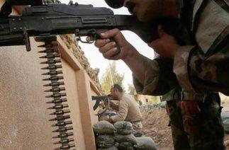 Askeri teçhizat Erbil'e ulaştı