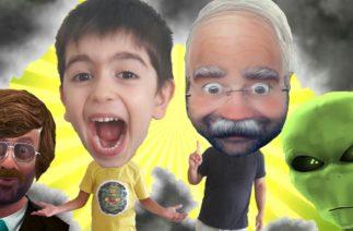 Atlasın Dedesini Uzaylılar Kaçırmaya Çalıştı Eğlenceli Komik Video جاء الأجانب لاختطاف الجد