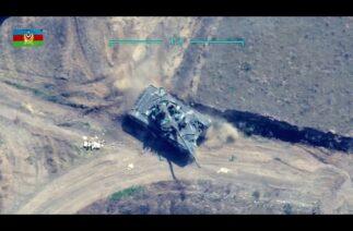 Azerbaycan, 2 Ermeni tankını daha imha etti