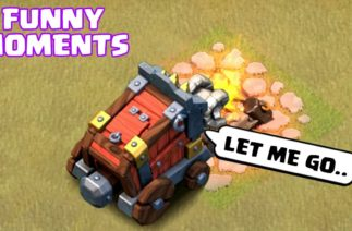 COC Funny Moments Montage | Glitches, Fails, Wins, and Troll Compilation #89