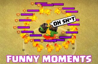 COC Funny Moments Montage | Glitches, Fails, Wins, and Troll Compilation #91