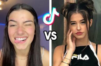 Charli D'Amelio VS Lea Elui Dance Battle | TikTok Compilation (September 2020)