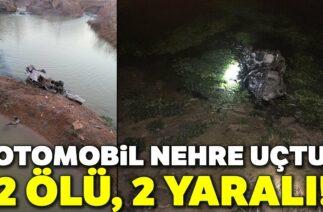 Denizli'de Trafik Kazası! Otomobil Nehre Uçtu: 2 Ölü, 2 Yaralı