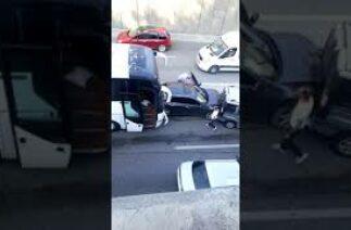 Denizli'de zincirleme trafik kazası