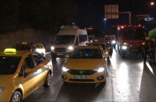 Fatih'te Trafik Kazası: 1 Yaralı