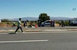 Hassa'da Trafik Kazası! Otomobiller Motosiklete Çarptı 1 Ölü, 1 Yaralı