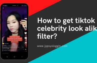 How to get celebrity lookalike filter on tiktok