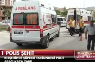 Kırşehir'de trafik kazası: 1 şehit