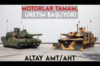 MOTOR TESTLERİ TAMAMLANDI! #Altay tankında seri üretim başlıyor