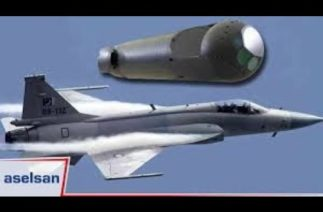 Millî hedefleme ve işaretleme podu ASELPOD'un test uçuşu