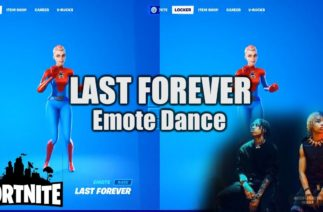 "NEW Fortnite ""Last Forever"" Emote Dance (""Ayo and Teo"" TikTok)"