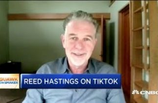 Netflix co-CEO Reed Hastings on TikTok and U.S.-China tensions