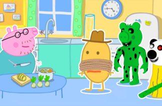 No God Please No – Peppa and Roblox Piggy Funny Meme