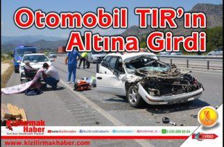 Osmancık'ta Trafik Kazası; 3 Yaralı