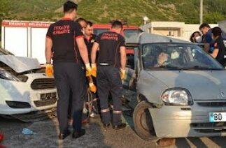 Osmaniye'De Trafik Kazası 4 Yaralı 30 Mayıs 2020 8Gunhaber 1