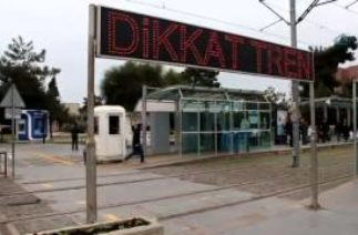 Samsun'da tramvay yolunda ki trafik kazaları