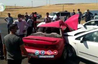 Son Dakika Diyarbakır – Batman Kara yolunda Trafik Kazası