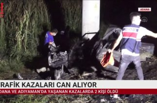 TRAFİK KAZALARI CAN ALIYOR