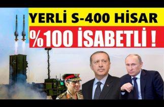 """TÜRKİYENİN YERLİ S-400'Ü VE BEKA MUHAFIZI """"HİSAR"""" ATIŞ TESTLERİNİN TAMAMINDA BAŞARILI OLDU !"""
