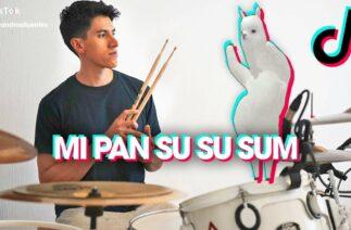 TikTok: Mi Pan Su Su Sum on DRUMS!