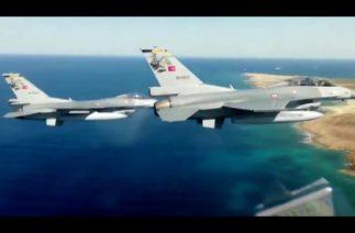 Türkiye-KKTC ortak tatbikatında F-16'lar hava hücum görevi icra etti