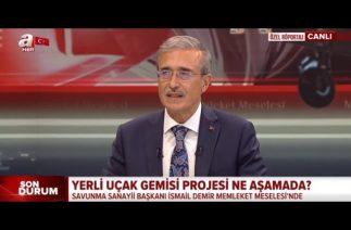 Türkiye uçak gemisi için çalışmalara başladı