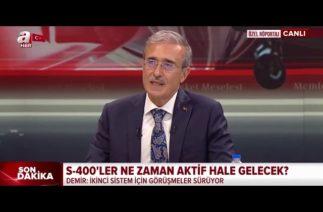 Türkiye'nin yerli hava savunma sistemlerinde son durum ne?