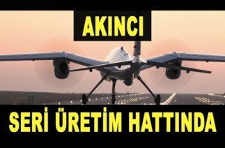 İlk seri üretim Akıncı TİHA hatta girdi – Baykar – Türk Savunma Sanayi