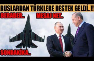 #sondakika RUSLARLA BERABER İLK DEFA YAPILDI…!!!