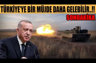 #sondakika TÜRKİYE'YE BİR MÜJDE DAHA GELEBİLİR..!!