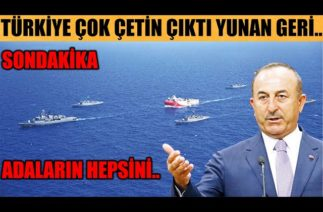 #sondakika YUNAN GERİ ADIM ATTI AMA..!!!