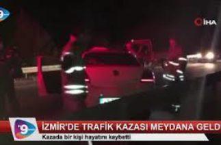 İzmir'de trafik kazası meydana geldi