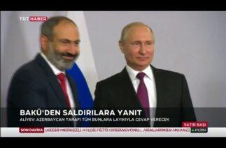 "Azerbaycan Cumhurbaşkanı Aliyev: ""Putin, Paşinyan'ı kurtardı"""
