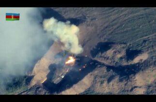 Azerbaycan Siha'ları ve uçakları Ermenistan'ın kara sistemlerini yok etti