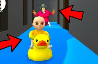 Baby in Yellow Animation vs Scary Teacher ★ Funny Horror Animation ★ Granny Cartoon ★ Part 3