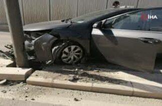 Bakan konvoyunda trafik kazası