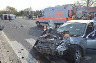 Bor İlçesi'nde Trafik Kazası