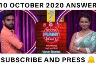 Flipkart Sabse Funny Kaun Poll Results | 10 October 2020 | Flipkart Sabse Funny Kaun Answers | Sab
