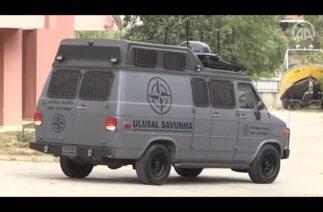 """İHA ve drone tehdidine karşı üretilen """"KALKA"""", kolluk kuvvetlerinin hizmetine sunuldu"""
