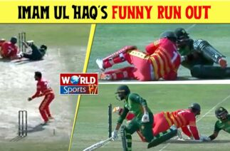 Imam ul Haq funny run out in the 1st Pakistan vs Zimbabwe 2020 series