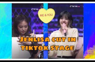 JenLisa Cut in TIKTOK STAGE ♥️ #Jenlisa #Blackpinktiktokstage #Jenlisatv