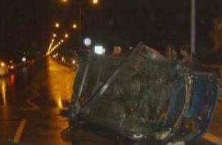 KKTC Lefkoşa Güzelyurt Yolu trafik kazası Kıbrıs