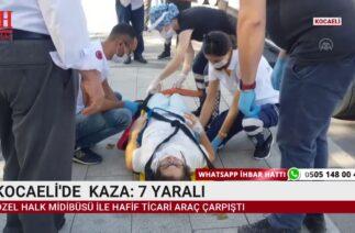 KOCAELİ VE KAYSERİ'DE TRAFİK KAZASI