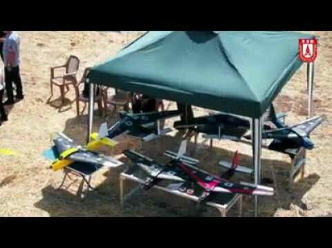 Kalecik'te Savunma Sanayi Başkanlığınca iha Test uçuşları gerçekleştirildi.