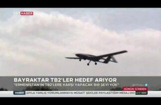 Karabağ'daki Türk İHA'ları uluslararası basının gündeminde