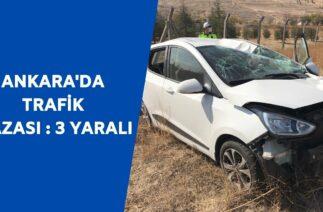 Kaza, Ayaş yolu Yenikent-Sincan istikametinde meydana geldi | Haberler 25 Ekim