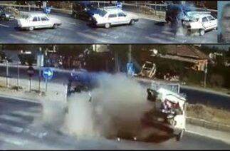 Manisa'daki Ölümlü Feci Kaza Kamera Yansıdı!