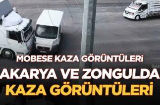 Mobese Trafik Kazaları Görüntüleri Sakarya/Zonguldak