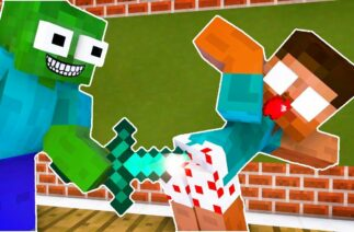 Monster School : BRAVE FUNNY CHALLENGE Minecraft Animation